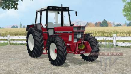 International 1455 A added wheels for Farming Simulator 2015