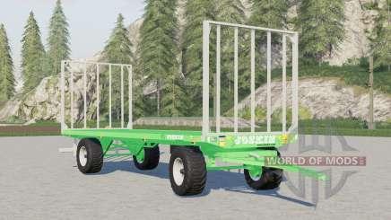 Joskin Wago TR৪000 for Farming Simulator 2017