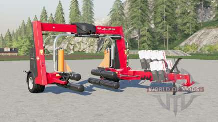 Kuhn SW 4014 big increase in wrapping speed for Farming Simulator 2017
