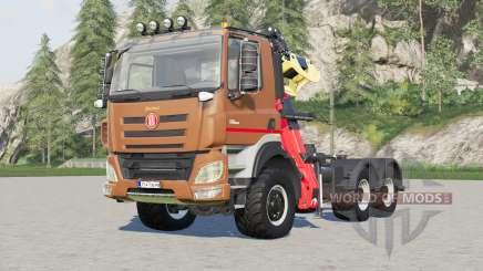 Tatra Phoenix T158 Forestry Semi-trailer 2015 for Farming Simulator 2017