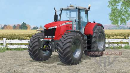 Massey Ferguson 8737 cab suspention for Farming Simulator 2015