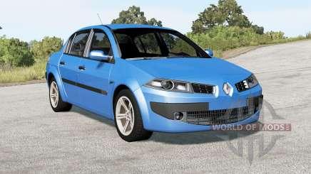 Renault Megane sedan 2006 for BeamNG Drive