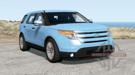 Ford Explorer Limited (U502) 2011 for BeamNG Drive