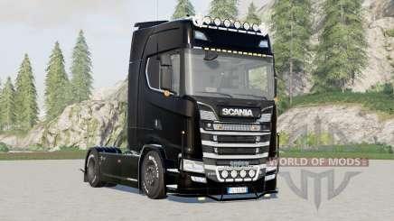Scania S580 Highline for Farming Simulator 2017