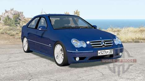 Mercedes-Benz C 320 (W203) 2004 v3.0 for BeamNG Drive