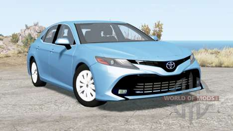 Toyota Camry (XV70) 2018 for BeamNG Drive