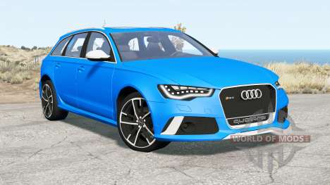 Audi RS 6 Avant (C7) 2013 for BeamNG Drive