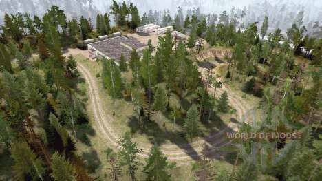 Crossing 6 roads for Spintires MudRunner