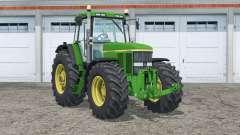 John Deere 7810〡washable tires for Farming Simulator 2015