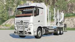 Mercedes-Benz Actros Timber Truck for Farming Simulator 2017