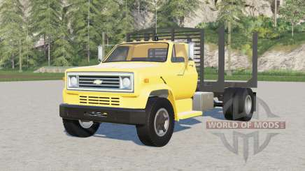 Chevrolet C70〡log truck for Farming Simulator 2017