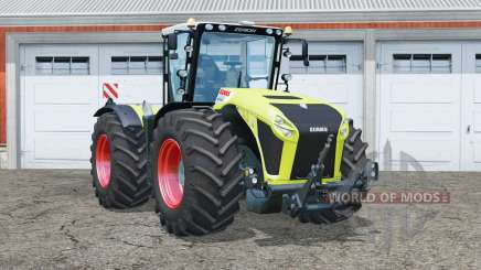 Claas Xerion 4500 Trac VC〡steered axles for Farming Simulator 2015