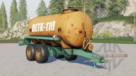 Detk 110 for Farming Simulator 2017
