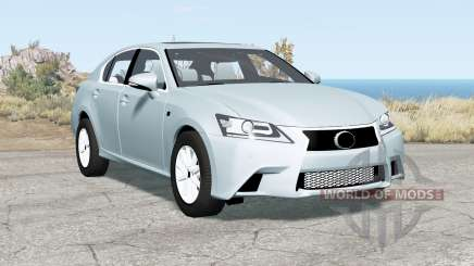 Lexus GS 350 F Sport (L10) 2012 for BeamNG Drive