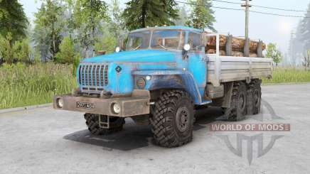 Ural 4320-10〡s cargoes for Spin Tires