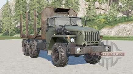 Ural 4320 forestry for Farming Simulator 2017