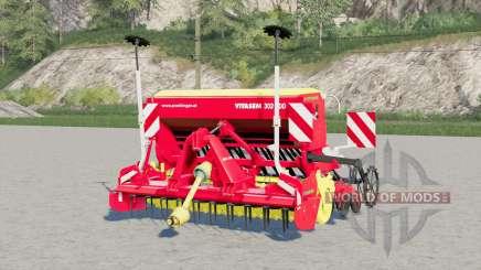 Pottinger Vitasem 302 ADD〡coral red for Farming Simulator 2017