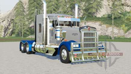 Kenworth W900〡chassis selection for Farming Simulator 2017