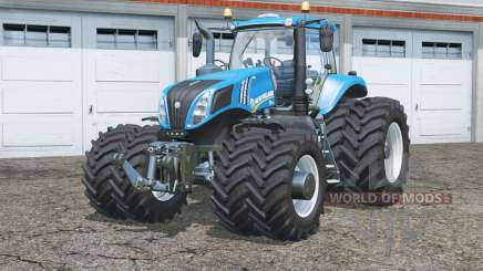 New Holland T8.435〡dual wheels for Farming Simulator 2015