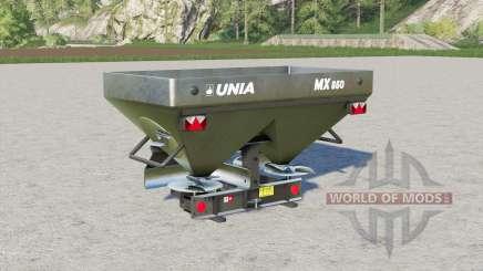 Unia MX 850〡1000〡1200 for Farming Simulator 2017