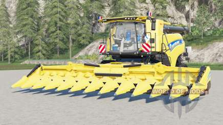 New Holland CR10.90 Revelation〡 real capacity for Farming Simulator 2017