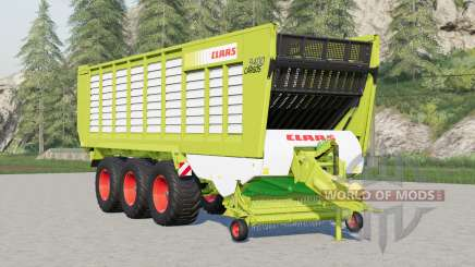 Krone ZX 560 GD〡re-skinned as Claas for Farming Simulator 2017