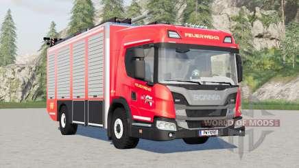 Scania L 320 4x4 Feuerwehr for Farming Simulator 2017