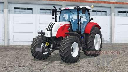Steyr 6160 CVT〡functioning mirror for Farming Simulator 2015