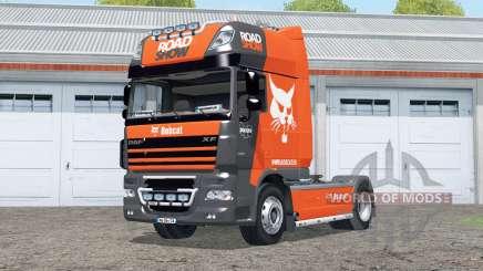 DAF XF105 FT Super Space Cab〡Bobcat Road Show for Farming Simulator 2015