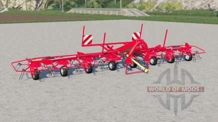 Kuhn GF 8712 with ground adaptation for Farming Simulator 2017