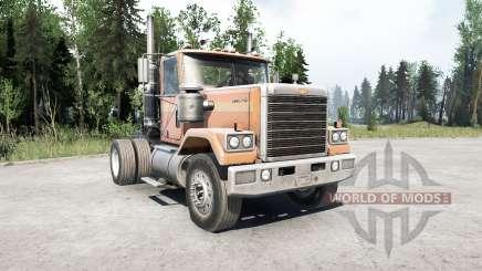 Chevrolet Bison 4x2 for MudRunner