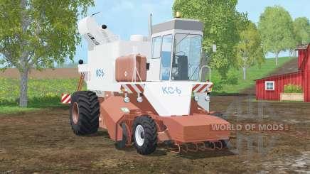 KC-6〡 potato〡sacamed beetroot for Farming Simulator 2015