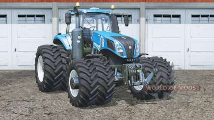 New Holland T8.435〡added duel wheels for Farming Simulator 2015