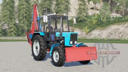 MTH 82.1 Belarus EO 2121 for Farming Simulator 2017
