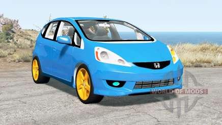 Honda Fit Sport (GE) 2009 for BeamNG Drive