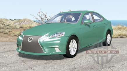 Lexus IS 350 F Sport (XE30) 201Ꝝ for BeamNG Drive