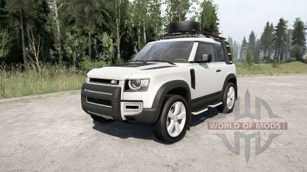 Land Rover Defender 90 D240 SE Adventure 2020 for MudRunner