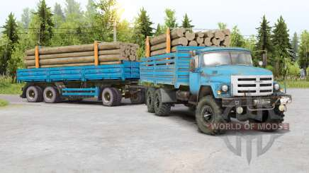 SIL 133GYA 6x6 for Spin Tires