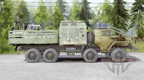 Ural 6614 8x8 for Spin Tires
