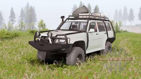 Nissan Patrol GU 5-door (Y61) 2004 for Spin Tires