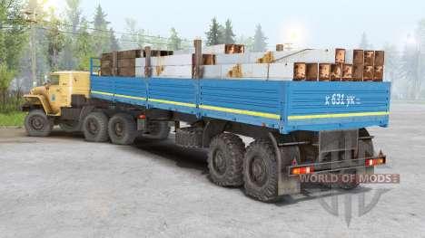 Ural 4320, 5453, 5557, 6614, 43206, 44202 for Spin Tires