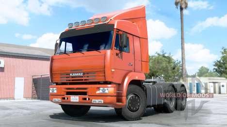 Kamaz 6460 for American Truck Simulator