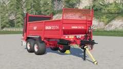 SIP Orion 120 TH manure spreader for Farming Simulator 2017