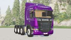 Scania R440 Streamline 3〡4 axis tractor Highline for Farming Simulator 2017