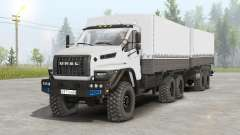 Ural Next 6x6.1 (4320-6952-72E5G38) for Spin Tires