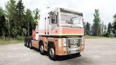 Renault Magnum 10x10 Barelds Transport for MudRunner