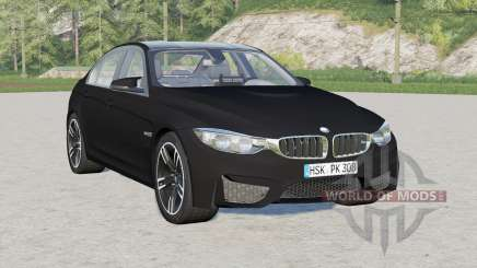 BMW M3 (F80) 2015〡Unmarked Police for Farming Simulator 2017