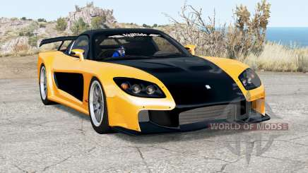 Mazda RX-7 VeilSide Fortune for BeamNG Drive