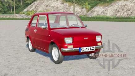 Fiat 126 1976 for Farming Simulator 2017