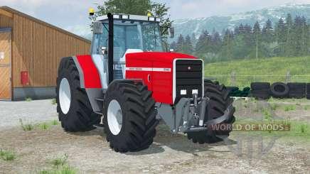 Massey Ferguson 8140〡animated dashboard for Farming Simulator 2013